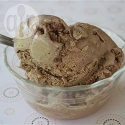 Chocolade ijs recept