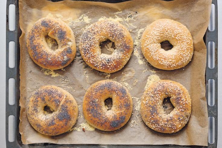 Klassiek recept voor new yorkse bagels