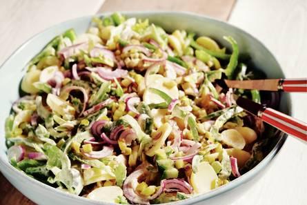 Aardappelsalade met bleekselderij