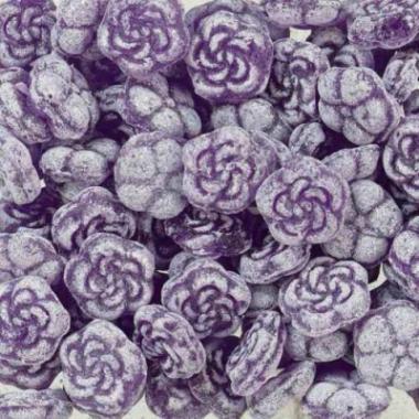 Recept 'violetsiroop'