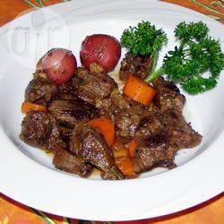 Goulash met hertenvlees recept