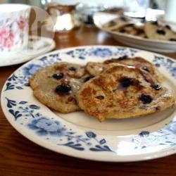 Bananen pancakes met maar twee ingrediënten: banaan en ei ...