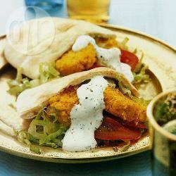 Pitabroodje met falafel recept