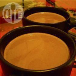 Veganistische chocolademelk recept
