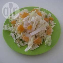 Chinese kool salade met mandarijnen recept