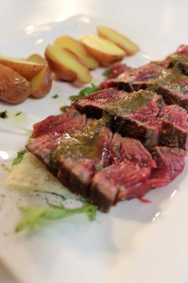 Recept 'bistecca fiorentina met salsa verde'