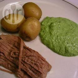 Groene kruidensaus recept