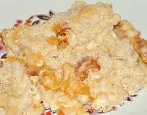 Macaroni met kaassaus en chorizo uit oven recept ...