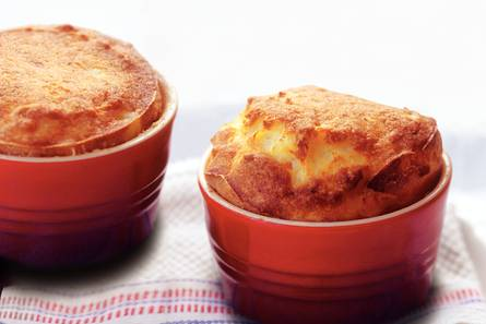 Stap-voor-stap aardappel-kaassoufflé
