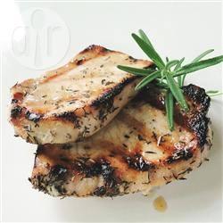 Karbonade van de grill recept