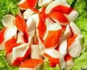 Surimi-tomaattaartje recept