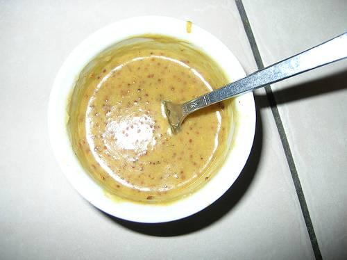 Mosterd-honing marinade met tijm recept