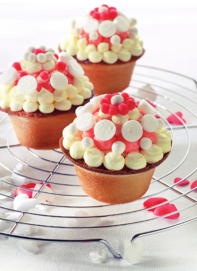 Recept 'cupcakes met suikercrème'