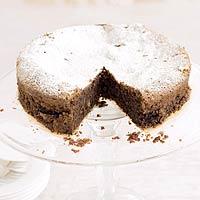 Chocoladetaart met gemalen amandelen (torta caprese) recept ...
