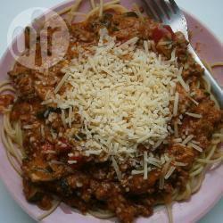 Romige pasta bolognese recept