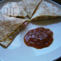 Kip quesadilla recept