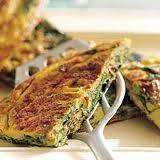 Omelet met spinazie recept
