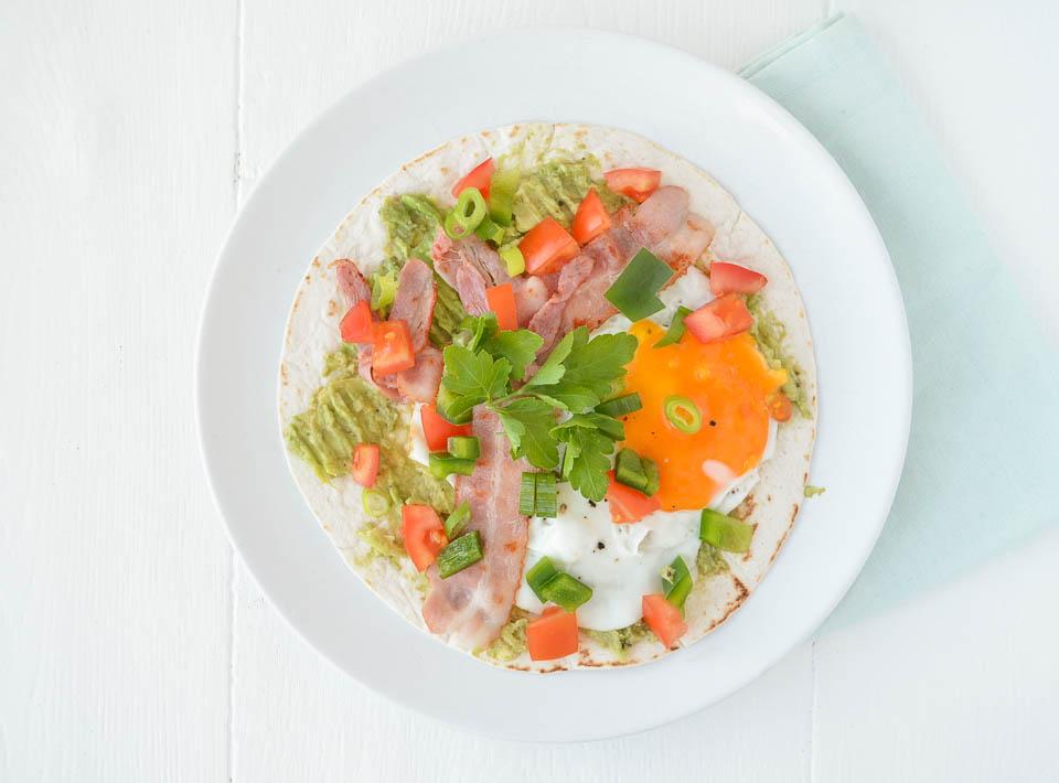 Recept ontbijt taco's uit paulines keuken