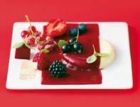 Panna cotta met rood fruit recept