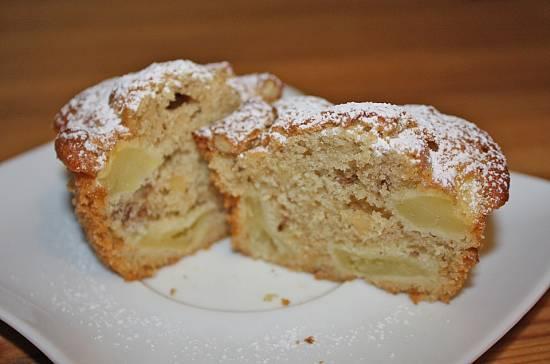 Herfst: herfstige appel-noten muffins (snel klaar!) recept