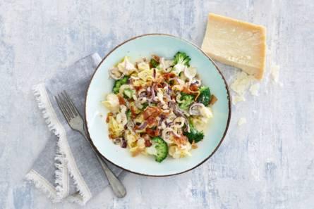 Perline met broccoli & tartufosaus