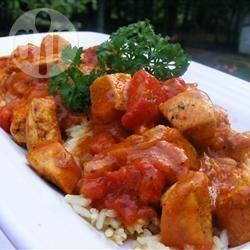 Eenvoudige kip curry recept