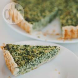 Spinazietaart recept