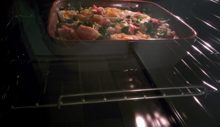 Ovenschotel met asperges, yorkham, bieslook en peterselie recept ...
