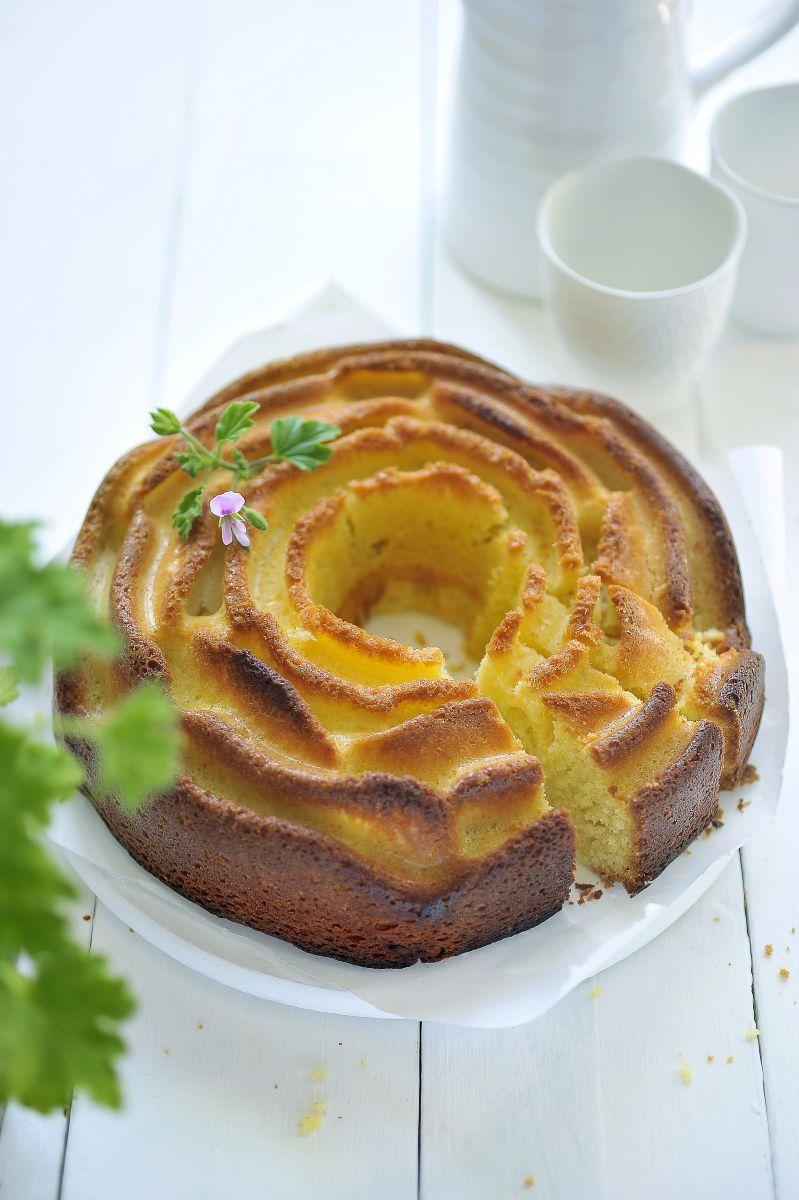 Recept 'geraniumcake'