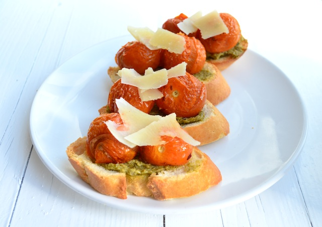 Bruschetta's basis   4 variaties