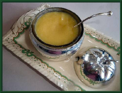 Lemon curd (makkelijk magnetron recept) recept
