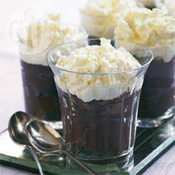 Chocoladetimbaal met witte chocoladeroom recept