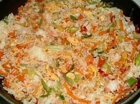 Nasi van de chinese huisvrouw recept