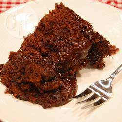 7 minuten chocolade-fudgecake recept