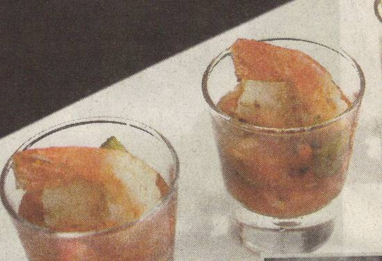 Glaasje gamba recept
