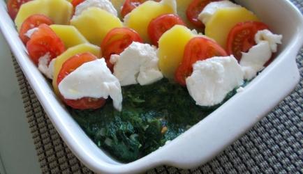 Italiaanse ovenschotel spinazie recept