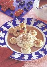 Mascarponebeertjes. recept