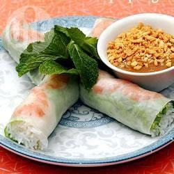 Vietnamese lenterolletjes recept