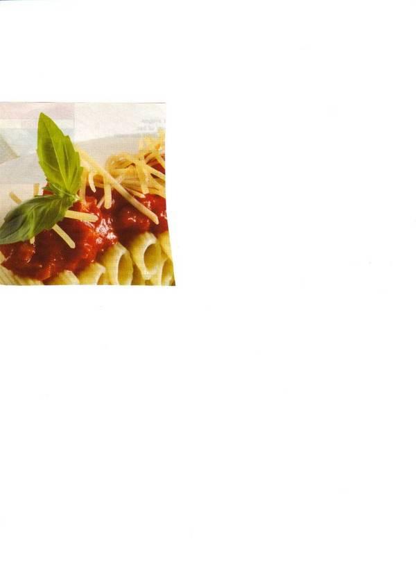 Penne pasta met tomatensaus recept
