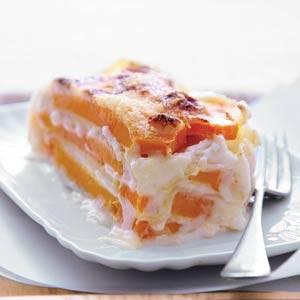 Lasagne van pompoen recept