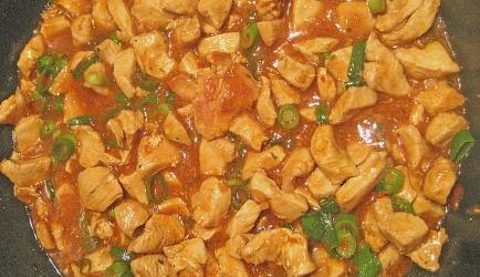 Indische hot en spicy kip uit de wok recept