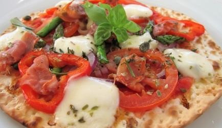 Slanke pizza recept