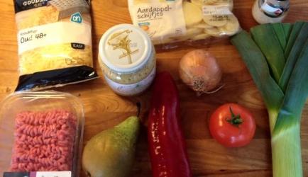 Ovenschotel prei, gehakt en peer ,en nog wat meer recept ...