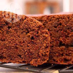 Chocoladefudge cake met bieten recept