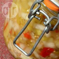 Groene tomatenchutney recept
