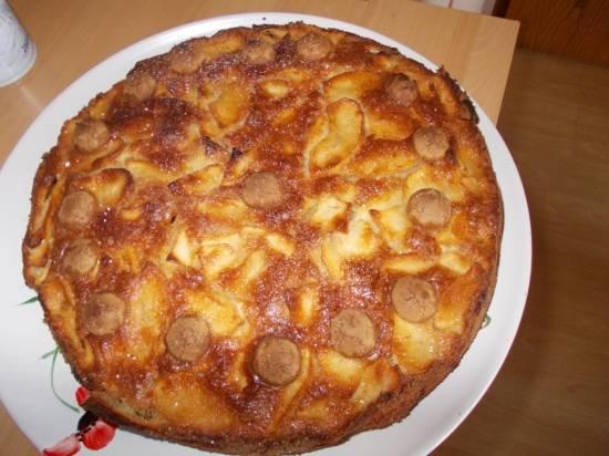 Italiaanse appeltaart met amaretto en amarettini ( amandelkoekjes ...