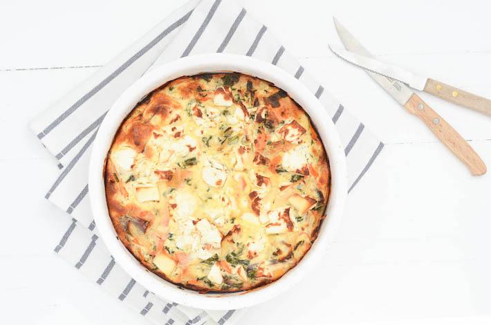 Fresh & easy: boerenkool frittata