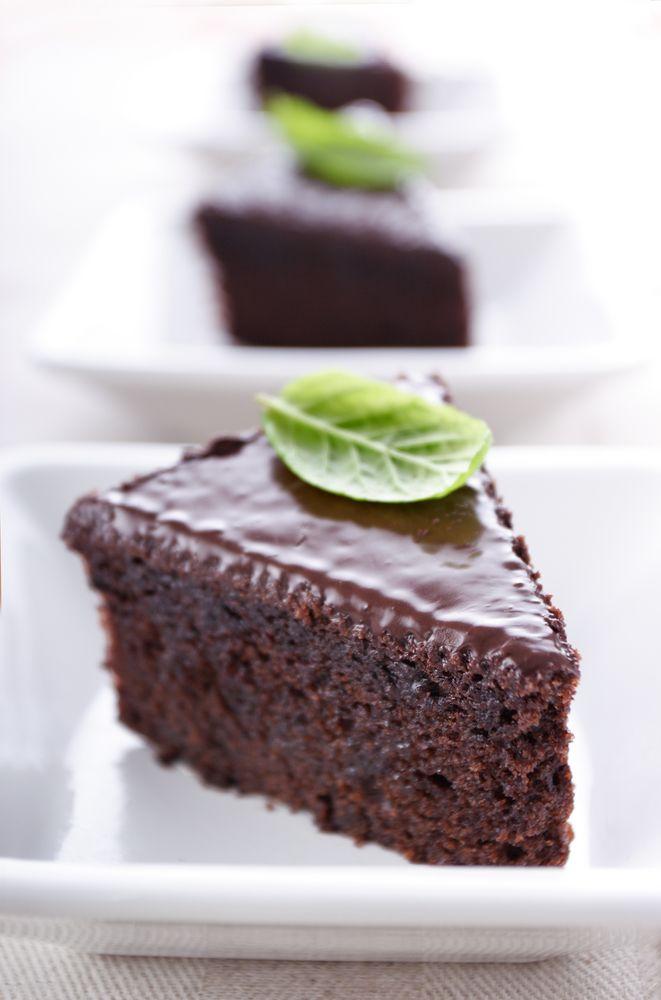 Recept 'chocolade taart'