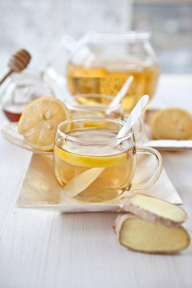 Recept 'verse gemberthee met citroen'