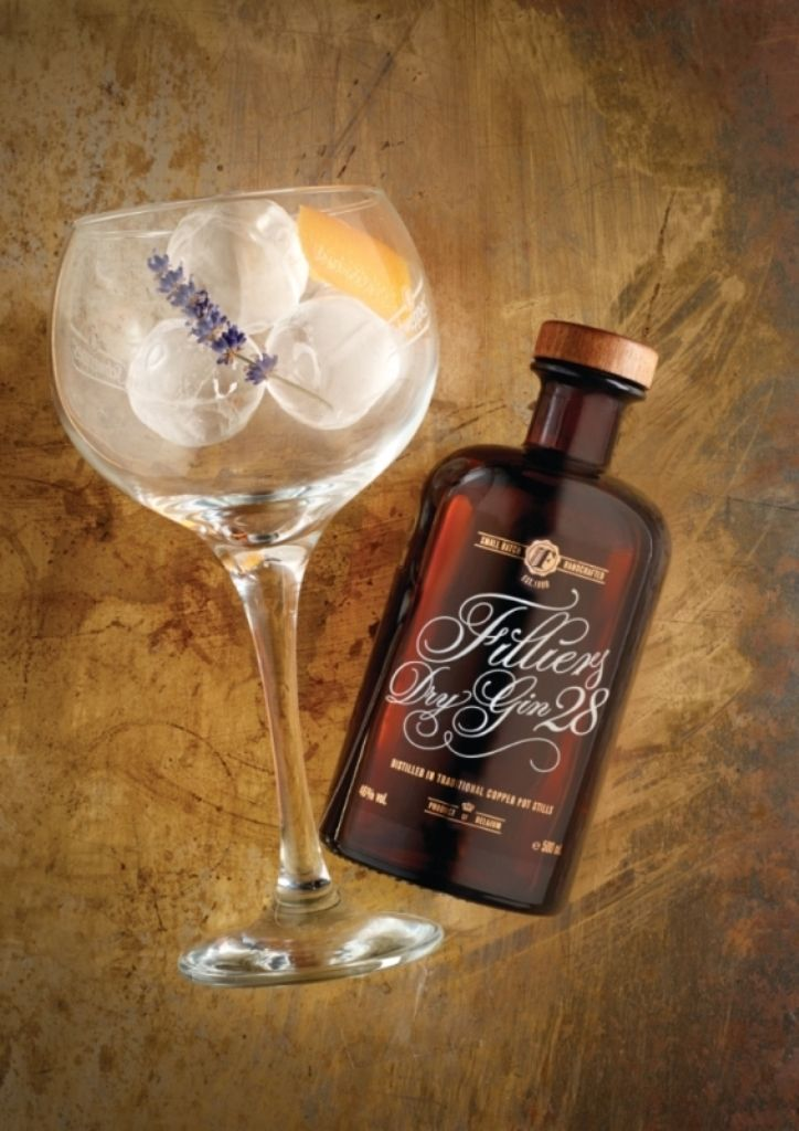 Recept 'filliers dry gin 28'